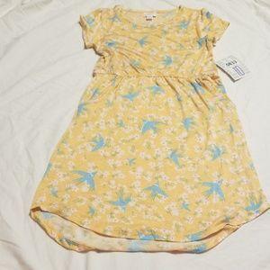 New LuLaRoe kids mae dress size 10